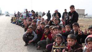 IŞİD Binlerce Çocuğu Kalkan Olarak Kullanıyor