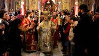 Yeruşalim Patriği Nevşehir'de Ayin Yönetti