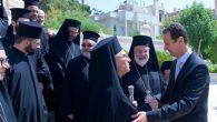 Beşar Esad: Katolik Kiliselerin Çalışmaları Suriye Milli Muhafazasına Katkı Sağlıyor