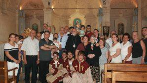 Değabah Bekçiyan, İskenderun Ermeni Kilisesi'nde Cemaatle Buluştu