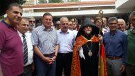 Hatay Büyükşehir Belediye Başkanı ve Değabah Bekçiyan Bir arada