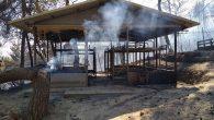 Kilise Kampında Yangın