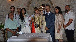 Didim'de 150 Yıl Sonra Vaftiz Töreni Yapıldı