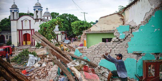 Meksika'da 7.1 Büyüklüğünde Deprem