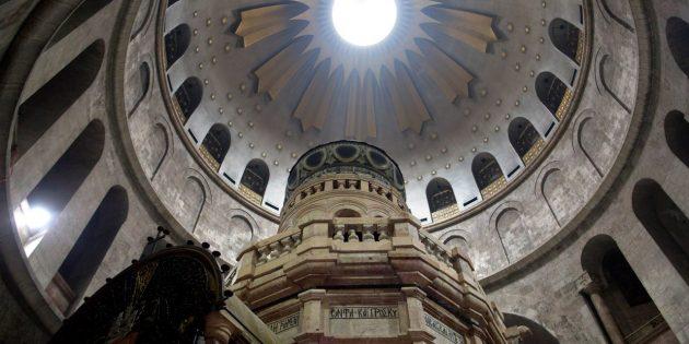 """Yeruşalim'deki """"Hristiyan Varlığını Zayıflatma Girişimi"""" Protestosu"""