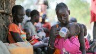 Güney Sudanlılar Uganda'ya Sığınıyor