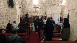 Mardin Protestan Kilisesi'nde Vaftiz Töreni