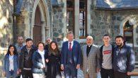 Almanya Başkonsolosu'ndan Kilise Ziyareti