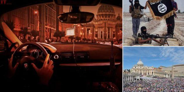 IŞİD Yayımladığı Propaganda Posteri ile Vatikanı Tehdit Etti