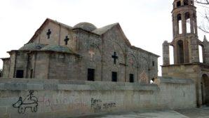 Nevşehir'de Yer Alan Tarihi Kilisenin Duvarı Tahrip Edildi