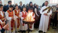 Midyat'ta Yaşayan Süryaniler Noel'i Kutladı