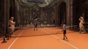 16. Yüzyıldan Kalma Kilisenin İçine Tenis Kortu Yapıldı