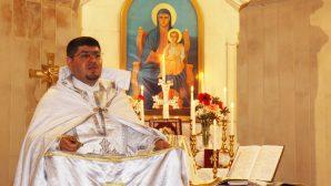 Karasun Manuk Ermeni Kilisesi'nde Noel Bayramı Kutlaması