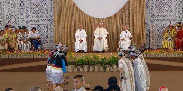Papa Françesko, Peru Ziyaretini Tamamladı