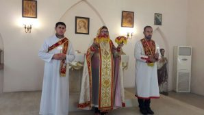 Christmas and Christ's Baptism Feats at the Syriac Catholic Church in Iskenderun