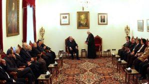Ermeni Cumhurbaşkanı Adayı Kilikya Katolik Kilisesini Ziyaret Etti
