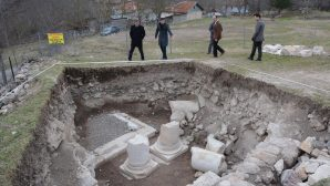 A 1500 years old church is found in Karabük