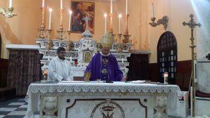 The Iskenderun Catholic Church Community Celebrated the Ash Wednesday