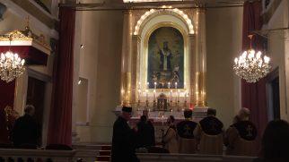 """Ermeni Katolik Kilise'sinde """"Vartanants Yortusu"""" Özel Bir Ayinle Kutlandı"""