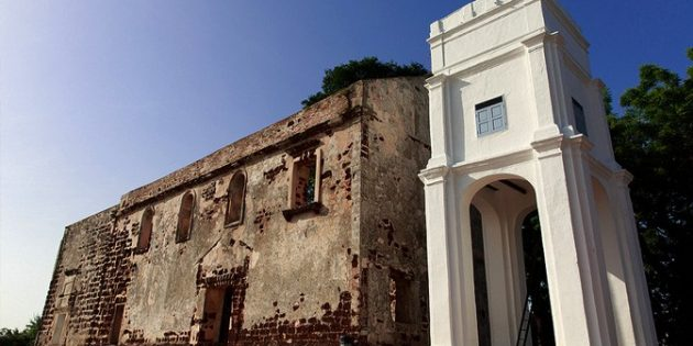 Malezya'da Harap Olmuş 16. Yüzyıldan Kalma Kilisenin Keşfi