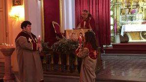Palm Sunday Celebration in Armenian Catholic Churches in Istanbul