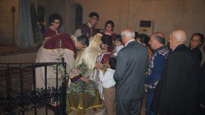 Karasun Manuk Armenian Church Celebrates the Palm Sunday