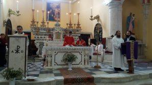 Palm Sunday Celebration in the Iskenderun Catholic Church