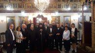 Selefkiya Episkoposu Patrik Vekili Efram Maluli İskenderun'da