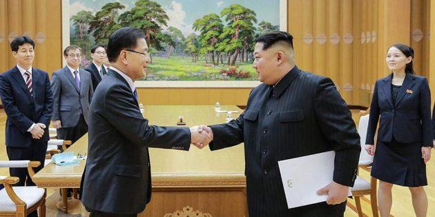 Kuzey Kore ve Güney Kore Liderlerinin Buluşması Umutlandırdı