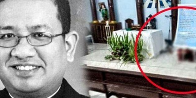 Filipinler'de Ayin Sırasında Saldırı: Katolik Rahip Hayatını Kaybetti!