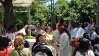 The Corpus Christi Feast was celebrated traditionally in Polonezköy