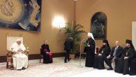 Metropolit Hilarion, Papa Françesko'yu Ziyaret Etti