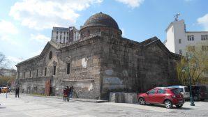 Kayseri'deki Meryem Ana Kilisesi'nde Restorasyona Başlandı