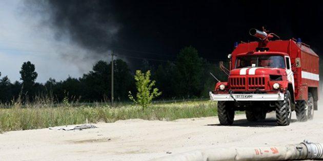 Ukrayna'da Tarihi Ortodoks Kilisesi Yandı