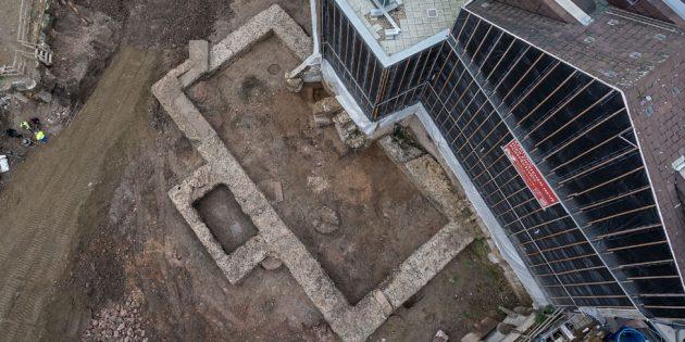 Kilise İnşasında M.Ö. 2.Yy'dan Kütüphane Bulundu