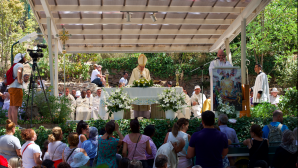 Celebration of Virgin Mary's Assumption in Izmir