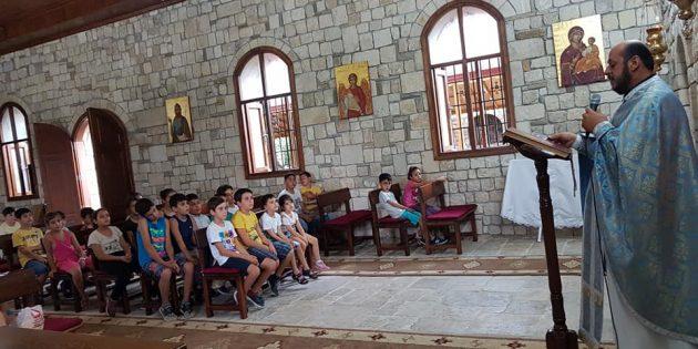 Samandağ Ortodoks Kilisesi'nde 'Çocuklara Özel' Etkinlik