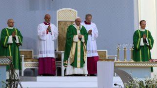 Papa Litvanya'yı Ziyaret Etti