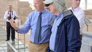 UK Ambassador to Ankara Chilcott was fascinated by the ancient city of Laodicea