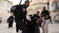 İsrail Polisi Kıpti Ortodoks Ruhbanlarını Gözaltına Aldı