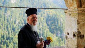 Ekümenik Patrik I.Bartholomeos Sümela Manastırı'nı Ziyaret Etti