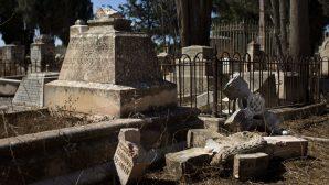 Yeruşalim'de Hristiyan Mezarlığı Saldırı Sonucu Tahrip Edildi