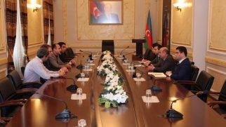 Kilise Komitesinden Azerbaycan Dini İşler Kurumu'na Ziyaret