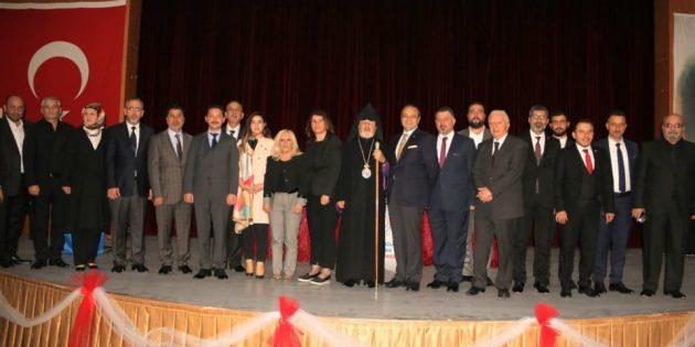 Başepiskopos Aram Ateşyan, Hatay'daki 'Birlikte Yaşamak' Paneline Katıldı