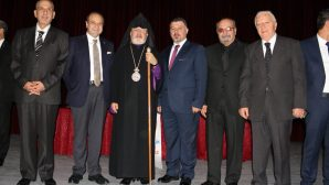 Archbishop Aram Atesyan participated in the 'Living Together' Panel in Antioch
