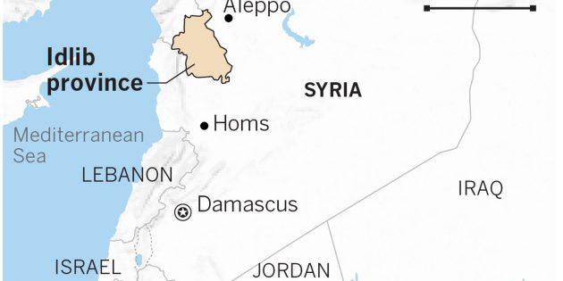 İdlib'te Yaşayan 200 Hristiyan Aile Risk Altında