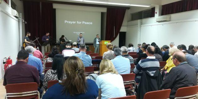 Kuzey ve Güney Kıbrıslılar Tek Yürekte Bir Araya Geldi