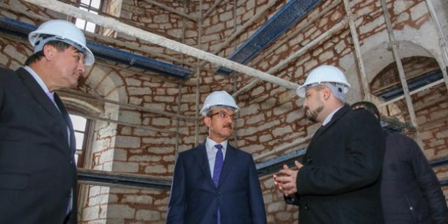 Tarihi Kilise Restorasyondan Sonra Kent Müzesi'ne Dönüştürülecek