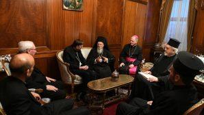 Roma Katolik Kilisesi, Ekümenik Patrikhane'yi Ziyaret Etti