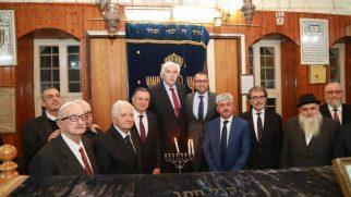 Hatay-Antakya'da Hanuka Işıklar Bayramı Kutlaması